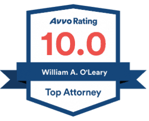 William A O'leary AVVO Review badge