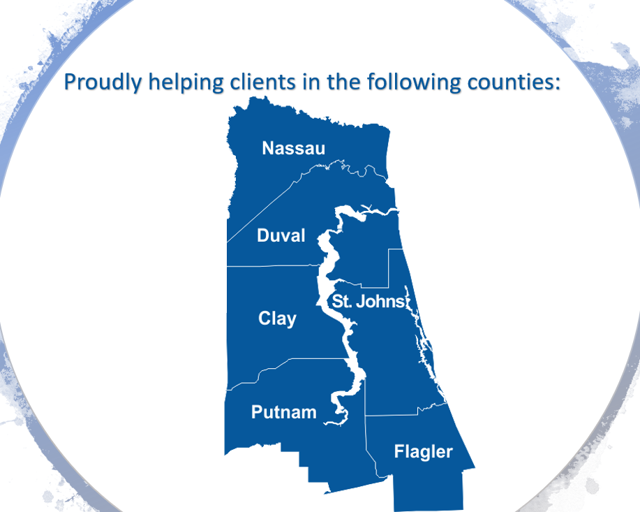 Serving estate planning clients in Nassau, Duval, Clay, Putnam, St. Johns, and Flagler FL Counties