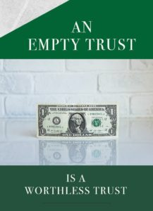 funding a trust