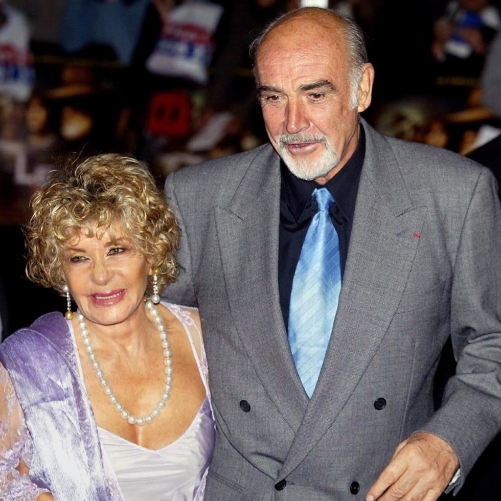 Sean Connery and Widow