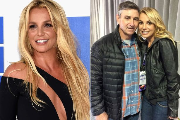Britney Spears and Dad