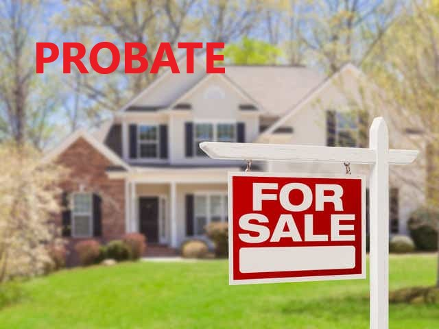 Probate House for Sale
