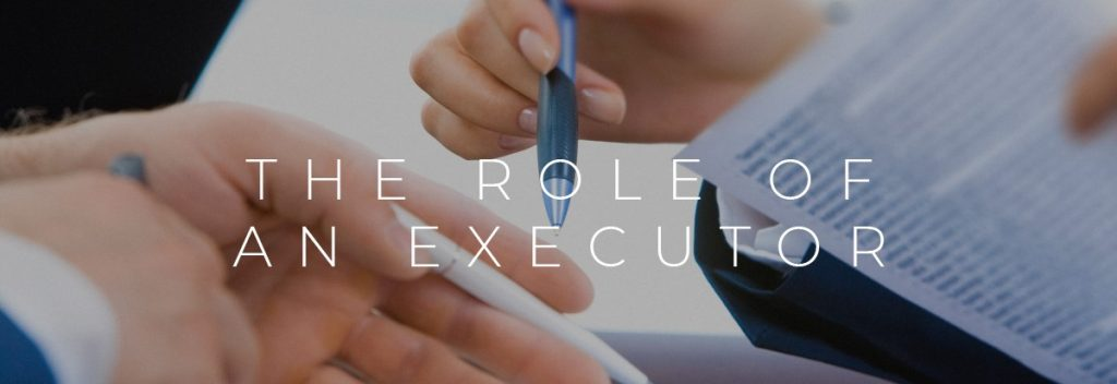 role of the executor